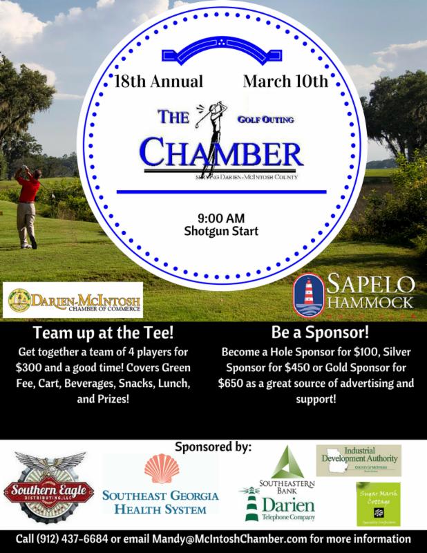 18th Annual Chamber Golf Outing @ Sapelo Hammock Golf Club | Shellman Bluff | Georgia | United States